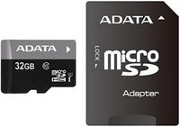 A-data 32GB Class10 UHS-I microSDHC memóriakártya + SD adapter