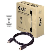 CLUB3D HDMI 2.1 - Ultra High Speed HDMI 10K 120Hz 1m kábel