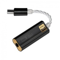 iBasso DC03 Type-C USB DAC - 3,5mm jack fekete adapter